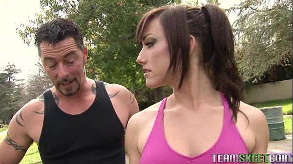 Comendo a personal trainer gostosa atriz porno (Jennifer White)