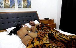 Loira gostosa brasileira caiu na net mostrando sua bunda grande